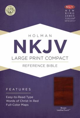 Large Print Compact Reference Bible-NKJV-Celtic Cross 9781433606427