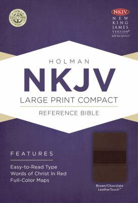 Large Print Compact Reference Bible-NKJV 9781433606465