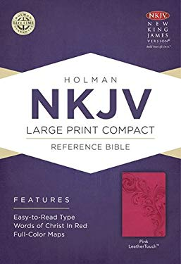 Large Print Compact Reference Bible-NKJV 9781433606472