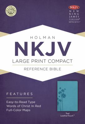 Large Print Compact Reference Bible-NKJV 9781433606489