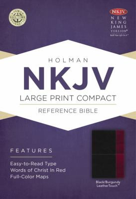 Large Print Compact Reference Bible-NKJV 9781433606496