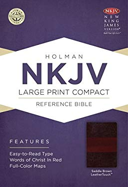 Large Print Compact Reference Bible-NKJV 9781433606502