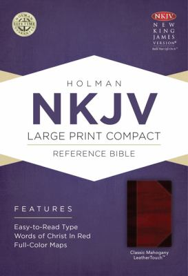 Large Print Compact Reference Bible-NKJV 9781433606526