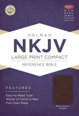 Large Print Compact Reference Bible-NKJV 9781433614316