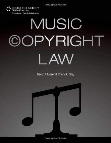 Music Copyright Law 9781435459724