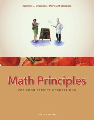 Math Principles for Food Service Occupations 9781435488823