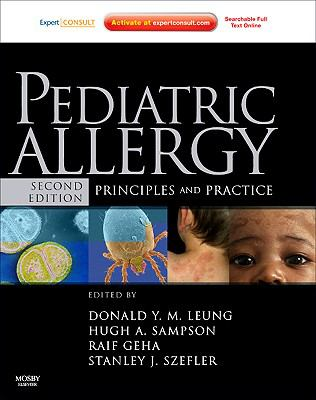 Pediatric Allergy: Principles and Practice [With Access Code] 9781437702712
