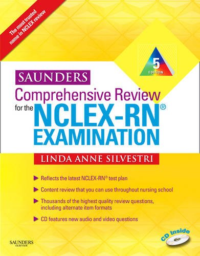 Saunders Comprehensive Review for the NCLEX-RN? Examination 9781437708257