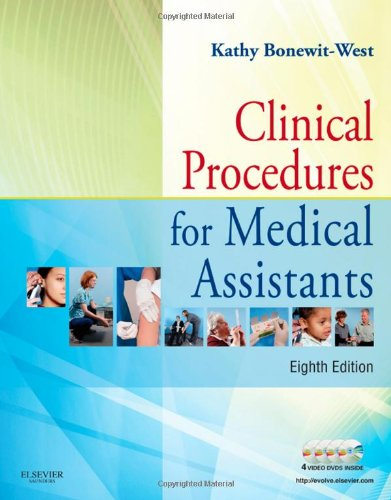 Clinical Procedures for Medical Assistants [With DVD] 9781437708820