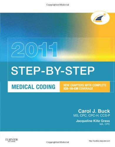 Step-By-Step Medical Coding [With Web Access] 9781437716436