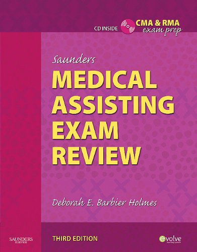Saunders Medical Assisting Exam Review [With CDROM] 9781437722369