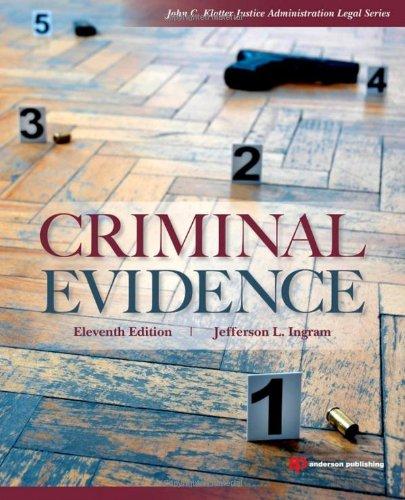 Criminal Evidence 9781437735031