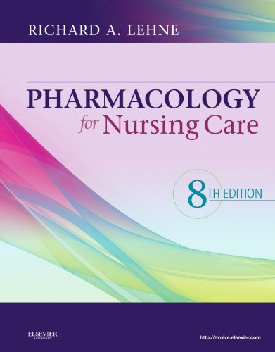 Pharmacology for Nursing Care 9781437735826