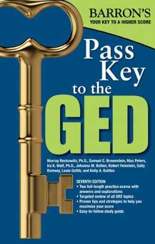 Pass Key to GED 9781438000336