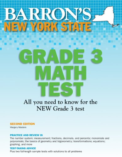 Barron's New York State Grade 3 Math Test 9781438000428