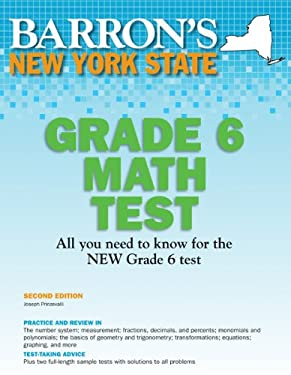 Barron's New York State Grade 6 Math Test 9781438000459