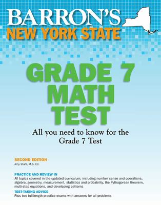 Barron's New York State Math Grade 7 Test 9781438000466