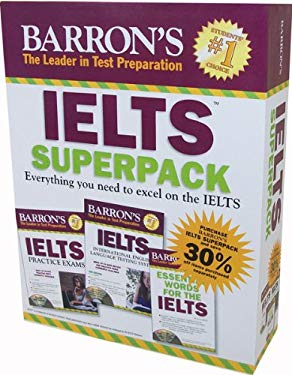 Barron's IELTS Superpack [With 2 Books and 5 CDs] 9781438069470
