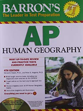 Barron's AP Human Geography [With CDROM] 9781438071220