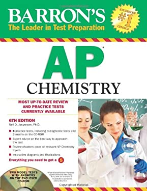 Barron's AP Chemistry [With CDROM] 9781438071282