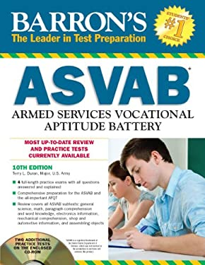 Barron's ASVAB [With CDROM] 9781438071664
