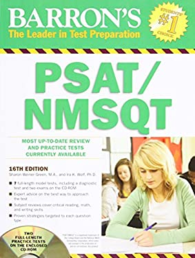 Barron's PSAT/NMSQT , 16th Edition [With CDROM] 9781438071671