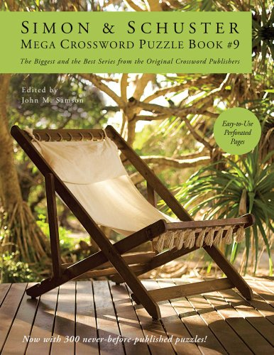 Simon & Schuster Mega Crossword Puzzle Book #9 9781439158104