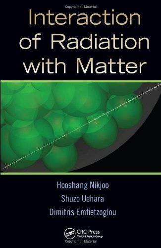 Interaction of Radiation with Matter 9781439853573
