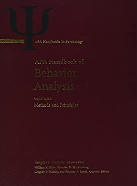 APA Handbook of Behavior Analysis 9781433811111