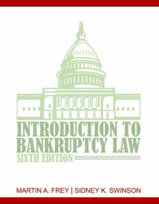 An Introduction to Bankruptcy Law 9781435440807