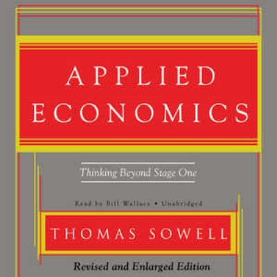 Applied Economics: Thinking Beyond Stage One 9781433291319