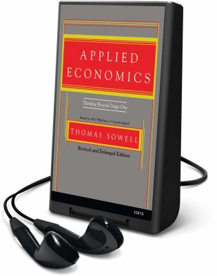 Applied Economics: Thinking Beyond Stage One [With Headphones] 9781433291340