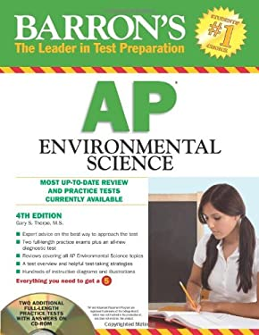 Barron's AP Environmental Science [With CDROM] 9781438070360