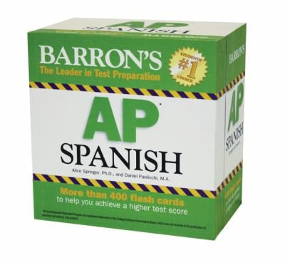 Barron's AP Spanish Flash Cards 9781438070520