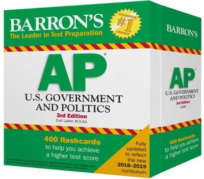 Barron's AP U.S. Government and Politics Flash Cards (Barron's Education)