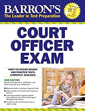 Barron's Court Officer Exam, 3rd Edition 9781438001050