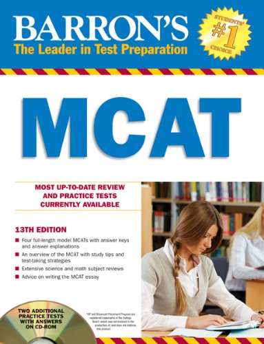Barron's MCAT [With CDROM] 9781438070704