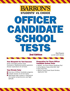 Barron's Officer Candidate School Tests, 2nd Edition 9781438000350