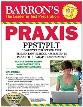 Barron's Praxis PPST/PLT [With CDROM] 9781438071213