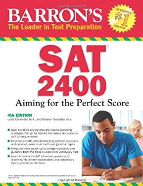 Barron's SAT 2400: Aiming for the Perfect Score 9781438000206