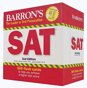 Barron's SAT Flash Cards, 2nd Edition 9781438070384