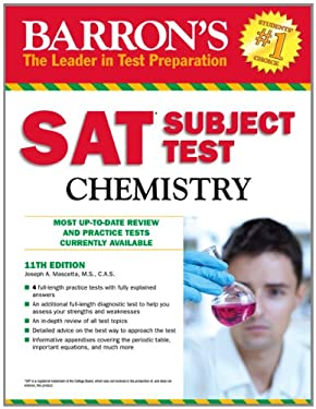 Barron's SAT Subject Test Chemistry 9781438000299