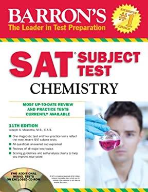 Barron's SAT Subject Test: Chemistry [With CDROM] 9781438071930