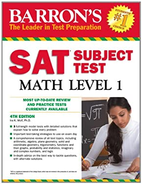 Barron's SAT Subject Test Math Level 1 9781438000305