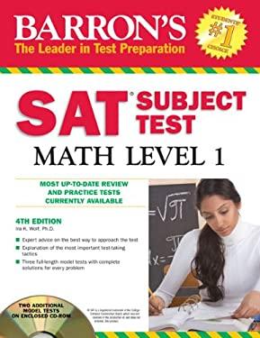 Barron's SAT Subject Test Math Level 1 [With CDROM] 9781438071923