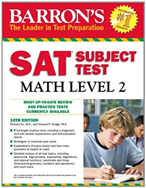 Barron's SAT Subject Test Math Level 2 9781438000312