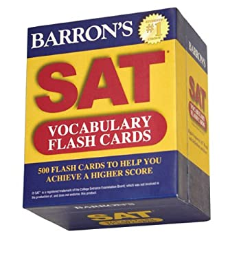 Barron's SAT Vocabulary Flash Cards 9781438070865