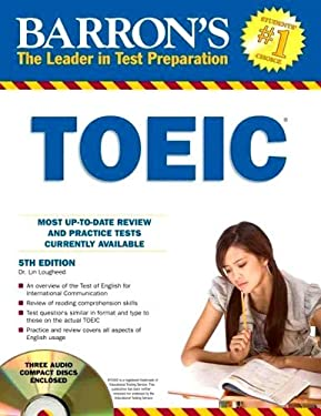 Barron's TOEIC with 4 Audio CDs 9781438070193