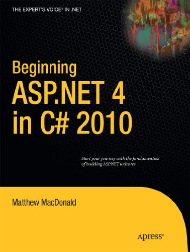 Beginning ASP.NET 4 in C# 2010 9781430226086