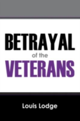 Betrayal of the Veterans 9781432711870